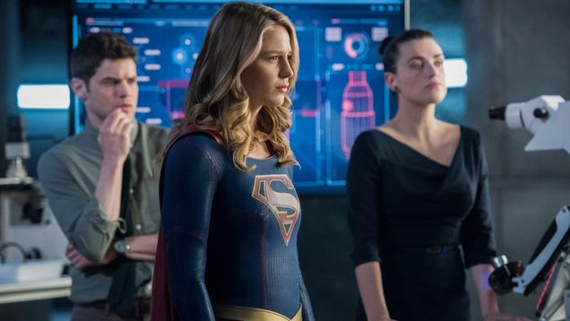 Actually, Supergirl's about ethics in superhero secret identities