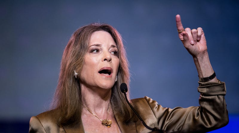Illustration for article titled Marianne Williamson Went Full Goop at the Democratic Debate
