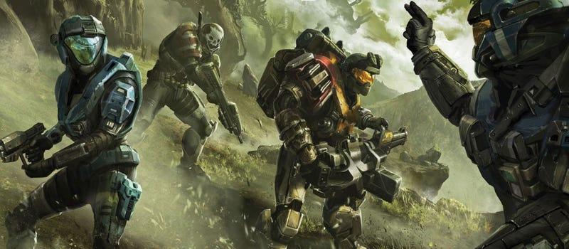"""Illustration for article titled Halo: Reach Beta Goes """"Free"""", Has Over 1 Million Players"""