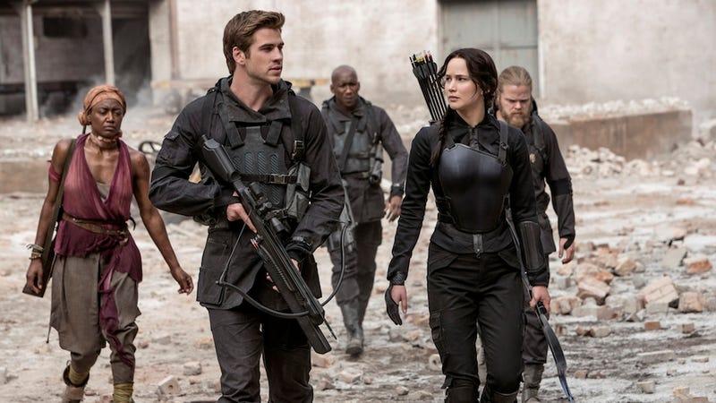 Illustration for article titled Mockingjay—Part 1 Is Katniss' True Teenage Rebellion