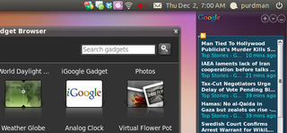 Illustration for article titled Run Google Gadgets on Ubuntu, No Screenlets Needed