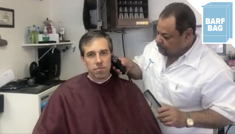 Illustration for article titled Beto O'Rourke Live-streamed His Hair Cut