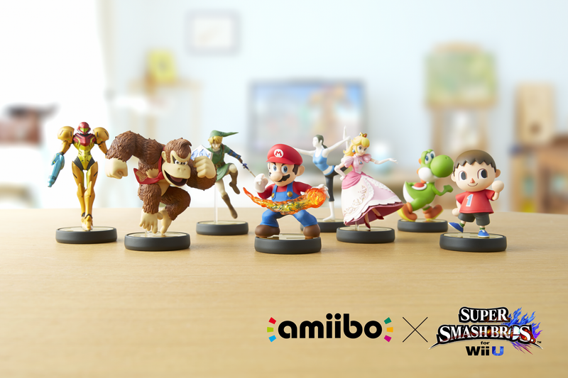 Illustration for article titled Amiibo Pics!
