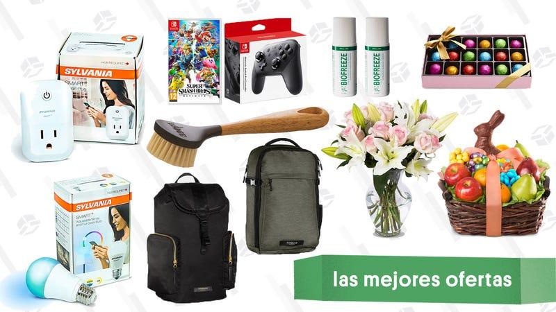 Illustration for article titled Las mejores ofertas de este lunes: Rebajas en Rakuten, Timbuk2, Gold Box de Pascua y más