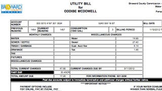 Illustration for article titled Oddibe McDowell's Water Bill Is Only $17.20, Because He Overpaid By $30.45 Last Month