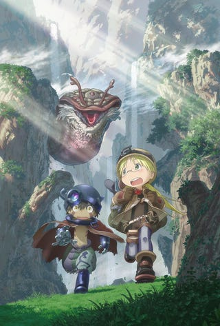 Illustration for article titled Enjoy the first promo of the Made in the Abyss Anime