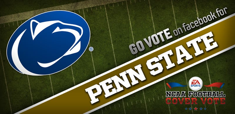 Illustration for article titled Of Course Penn State Is Leading EA Sports's NCAA Football 14 Cover Vote