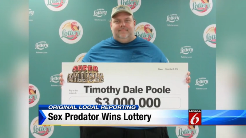 Illustration for article titled Convicted Sex Offender Wins $3 Million Lottery Because There Is No God