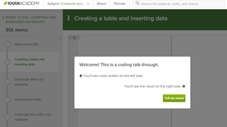 Learn SQL with Khan Academy's New Interactive Course