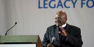 Desmond Tutu (Rodger Bosch/AFP/Getty Images)