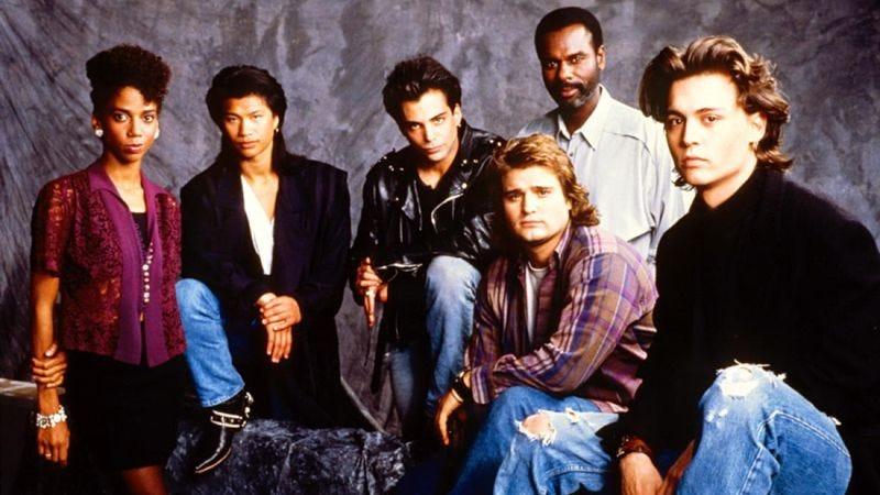 21 Jump Street cast photo, c. 1989