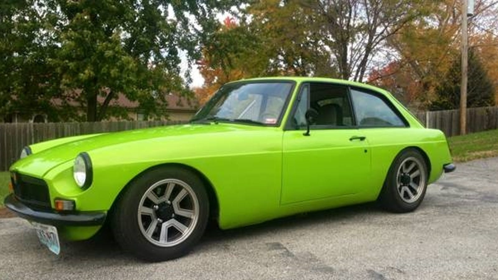 Buy A Margarita Green MGBuick GT On Craigslist For $6,500