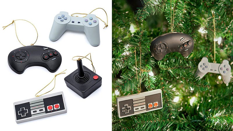 Illustration for article titled Classic Controller Ornaments Will 1-Up Your Holiday Spirit