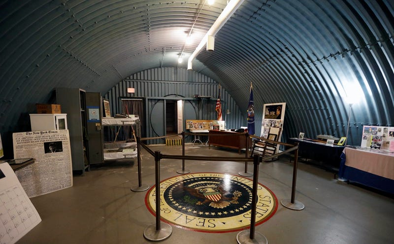 Foto: Búnker presidencial John F. Kennedy en Florida (Alan Diaz / AP Images).