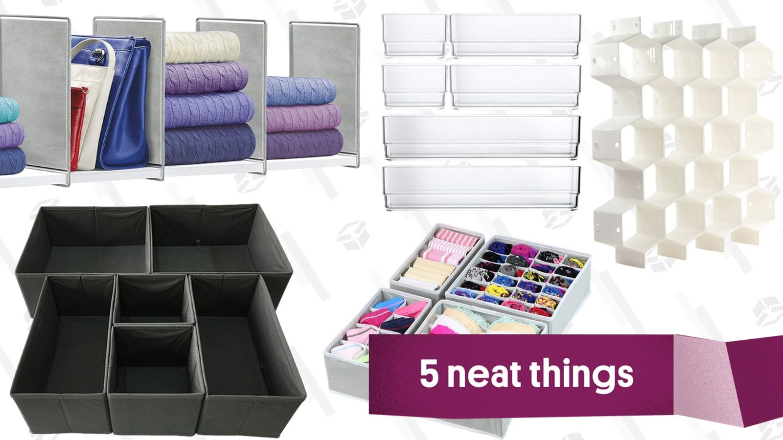 The Best Drawer And Shelf Dividers For Socks'n'Stuff