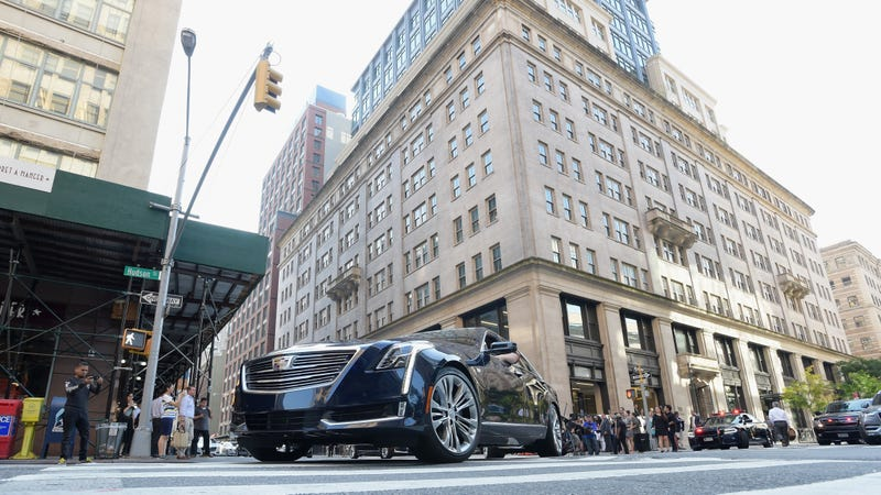 Cadillac's headquarters in NYC.