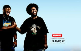 Illustration for article titled Does ?uestlove Of The Roots Have Inside Information About Bounties In The NFL?