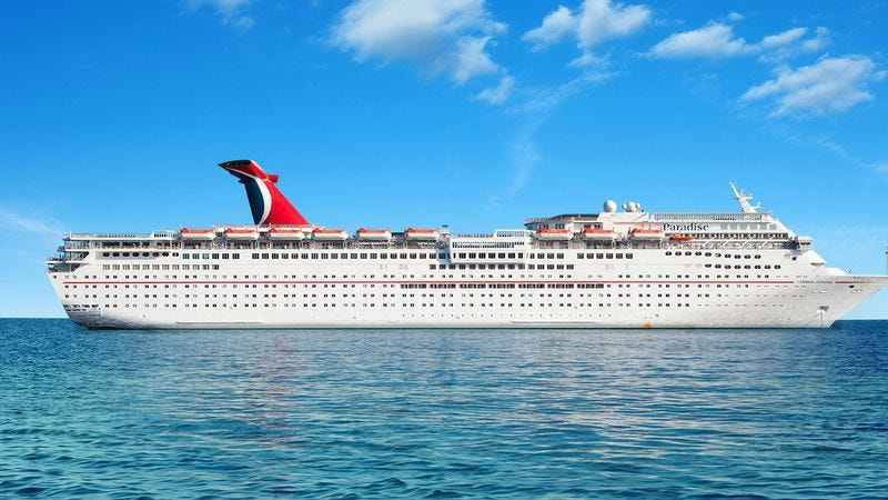 Illustration for article titled David Copperfield, Please Don't Use The Sliders To Make These Cruise Ships Disappear!