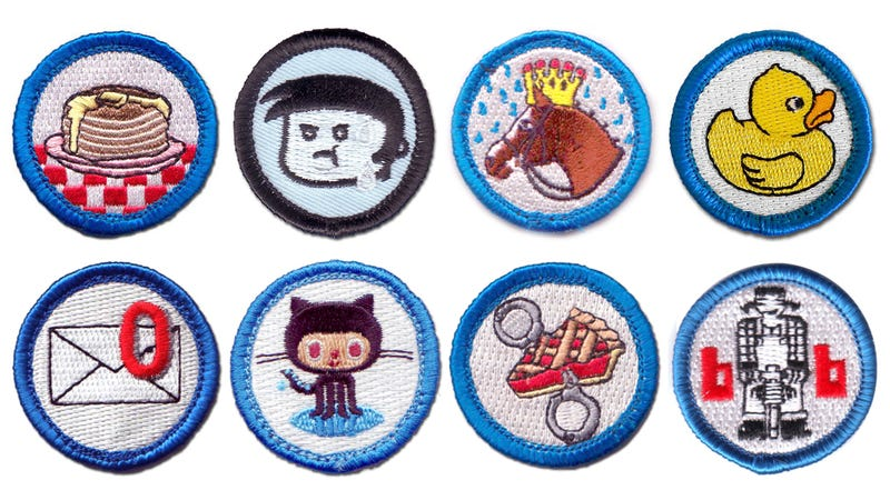 Illustration for article titled Time to Collect All These Nerd Merit Badges