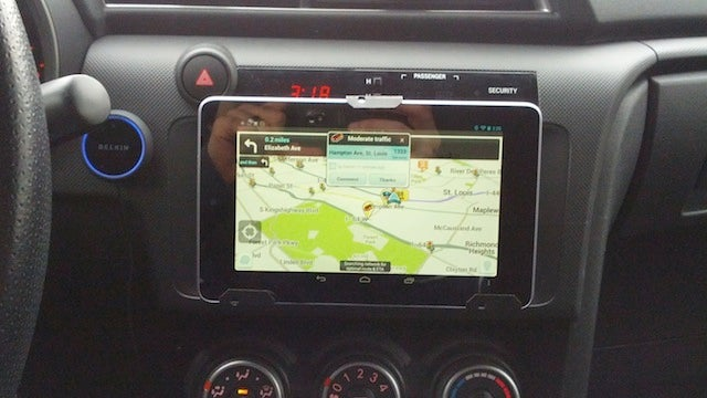 Mount A 7 Inch Tablet In Your Car For Better Music Navigation