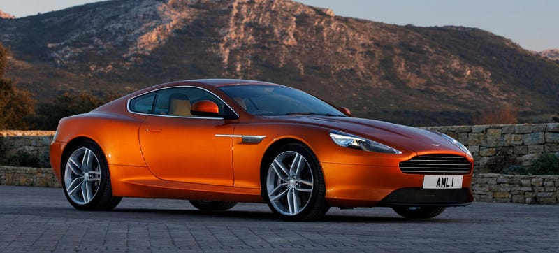 Illustration for article titled Is Mercedes-Benz Going To Buy Aston Martin?