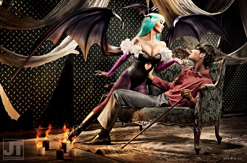 Illustration for article titled Darkstalkers Cosplay Has Never Been Classier