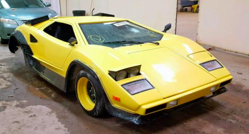 You Can Buy The Lamborghini Countach Of Your Dreams For Dirt Cheap