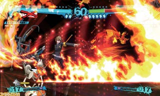 Illustration for article titled Persona 4 Arena Ultimax Ken and Koromaru