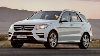 Illustration for article titled Here's the 2012 Mercedes-Benz M-Class