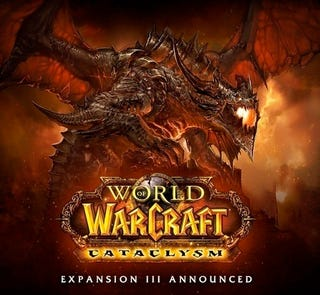 Illustration for article titled First Official World Of Warcraft Cataclysm Image
