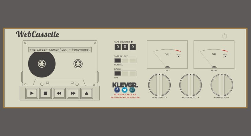 This Cassette Tape Simulator Makes Your MP3s Sound Like You're Listening to a Retro Walkman