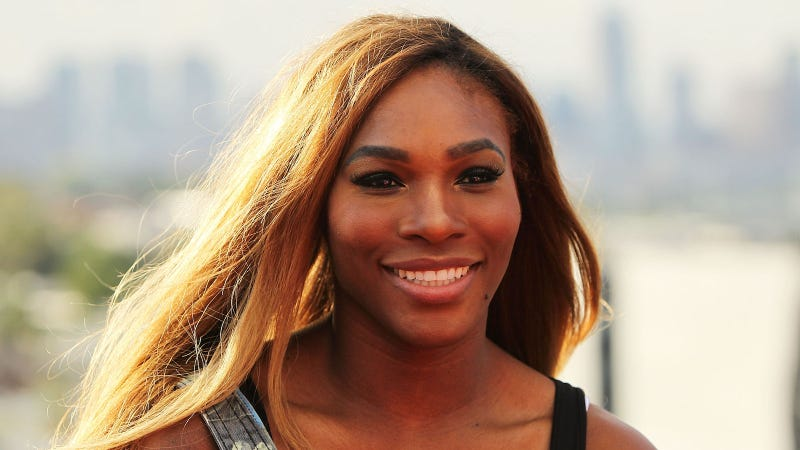 Serena Williams Snapchats selfie that suggests she is pregnant