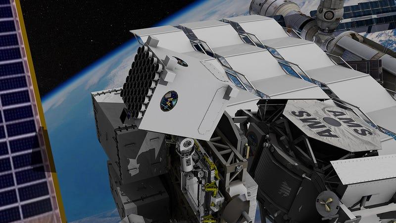El módulo NICER a bordo de la ISS. Foto: NASA