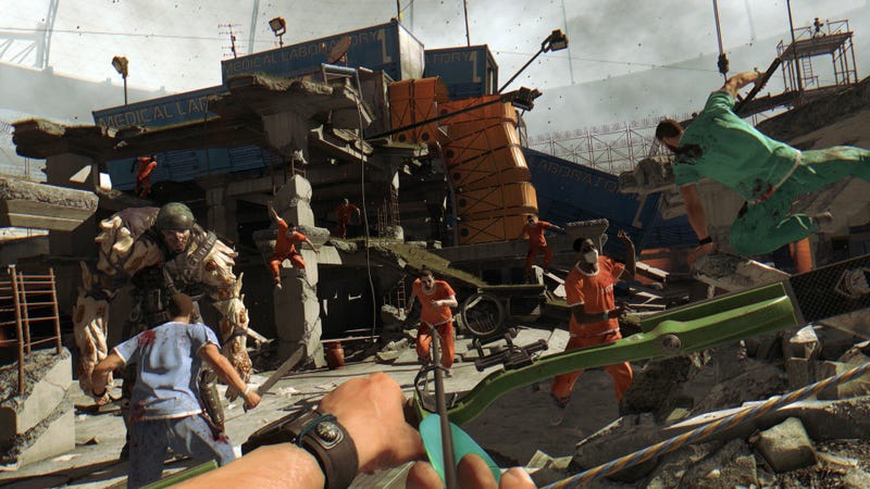 Illustration for article titled Dying Light's New Bow-And-Arrow Is Driving Some Players Nuts