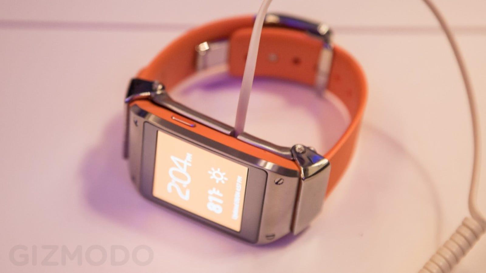 Probamos el Samsung Galaxy Gear: un pionero que requiere adaptación