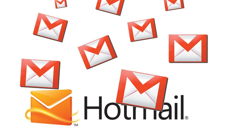 Illustration for article titled The Most Amazing Gmail Glitch Is Flooding Some Poor Guy's Hotmail