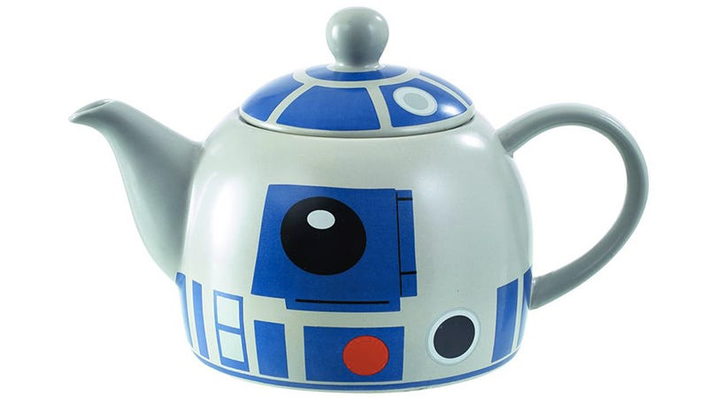 Illustration for article titled Afternoon Tea Is Even More Civilized With an R2-D2 Teapot