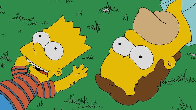 Illustration for article titled The Simpsons attempts to borrow a feeling from Boyhood