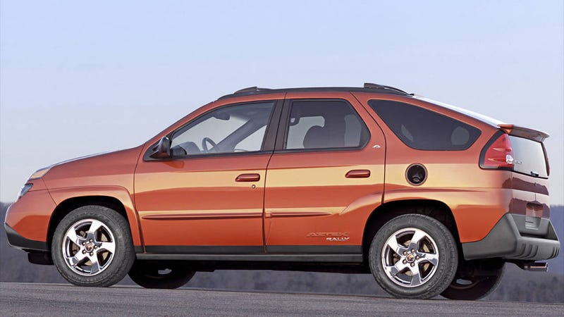 Illustration for article titled Bob Lutz on the Pontiac Aztek and how bad cars happen