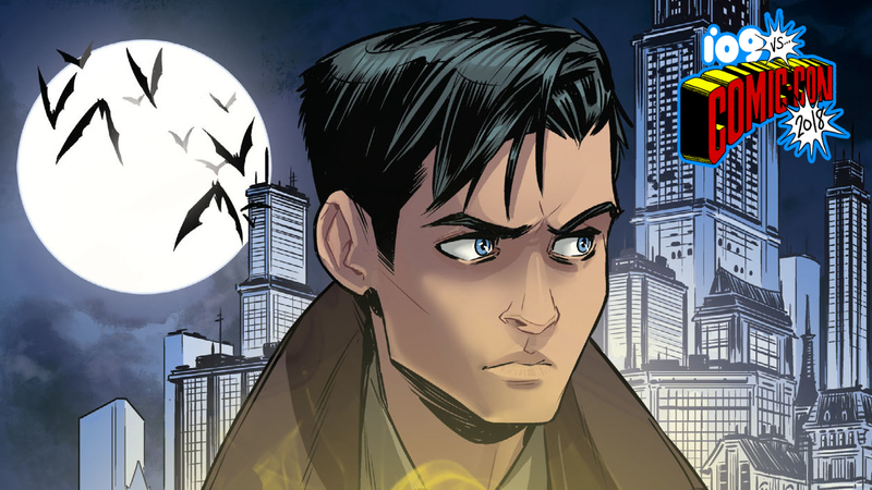 The cover for Batman: Nightwalker, feat. Dick Grayson.
