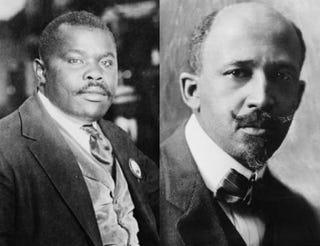 Marcus Garvey; W.E.B. Du BoisWikimedia Commons; Wikimedia Commons