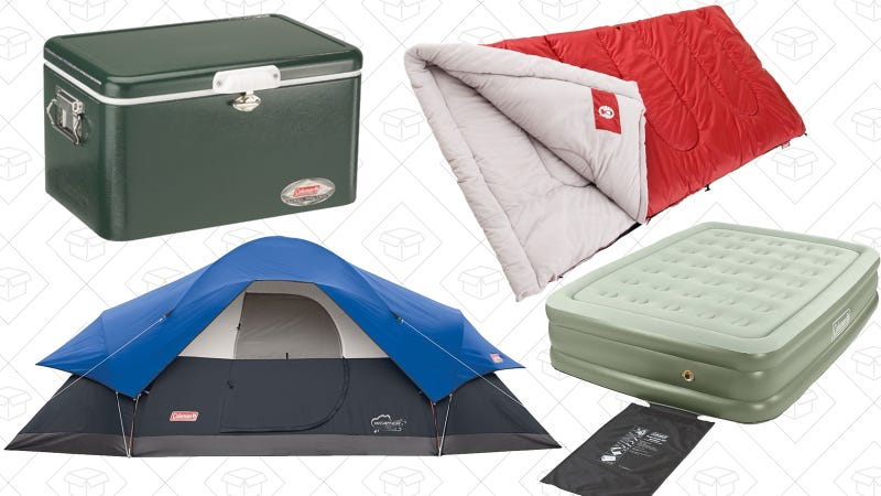 Coleman camping Gold Box | Amazon