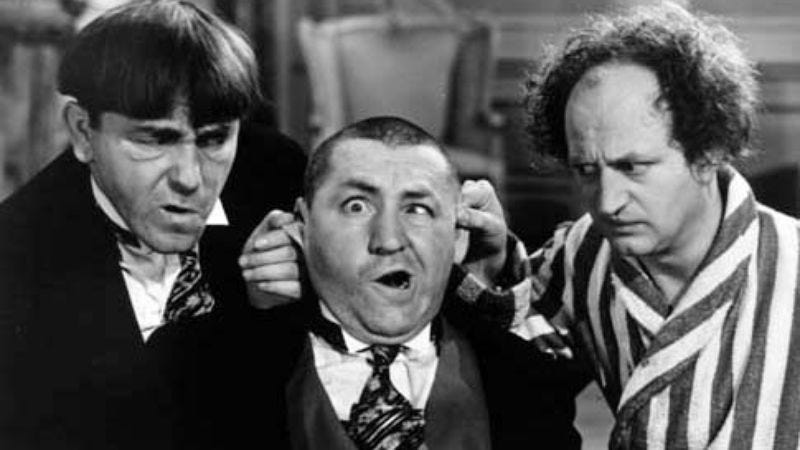 Illustration for article titled The Three Stooges reboot will present childish characters as actual children
