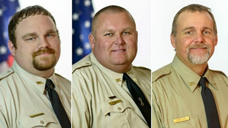 Former Sheriff's Deputies Rhett Scott, Michael Howell and Henry Lee Copeland (Washington County, Ga., Sheriff's Office)