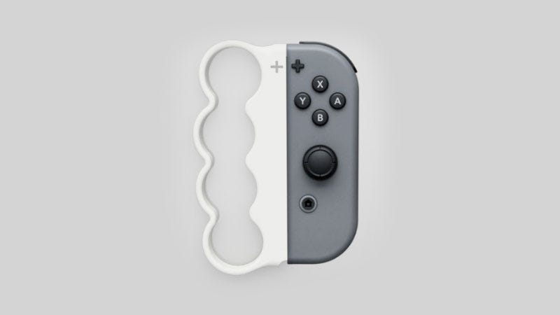 Illustration for article titled A Nintendo Switch Accessory For Rough Times