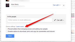 Illustration for article titled Google Drive Now Lets You Block Downloading or Copying of Shared Files