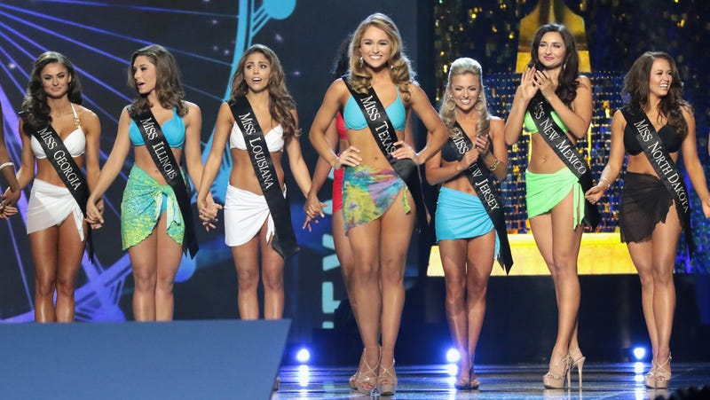 "Illustration for article titled Miss America says it's ""no longer a pageant,"" eliminates swimsuit competition"