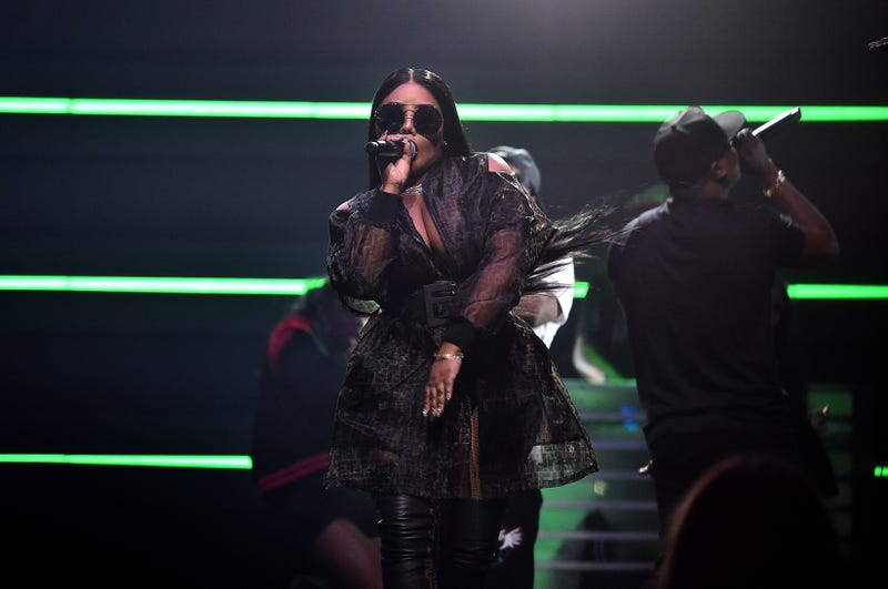 Lil Kim performs onstage during the 4th Annual TIDAL X: Brooklyn at Barclays Center of Brooklyn on Oct. 23, 2018, in New York City.