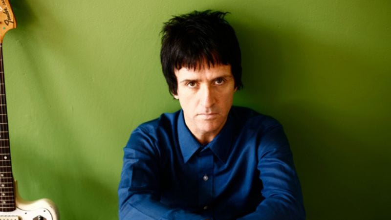 Illustration for article titled Johnny Marr has no negative thoughts about The Smiths, seriously