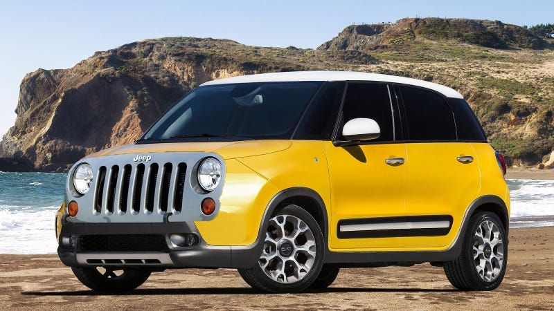 Illustration for article titled Will The Fiat 500 Baby Jeep Be The Jeepster?